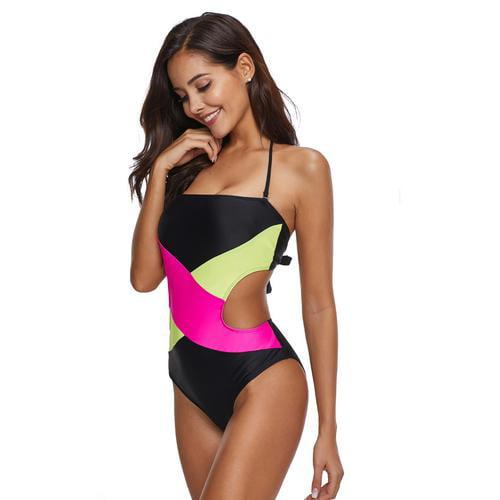45b96286571 cottcuboaba - Women One Piece Backless Swimsuit Cross Strap Sexy Tight  Swimwear Beach Swimsuit - Walmart.com