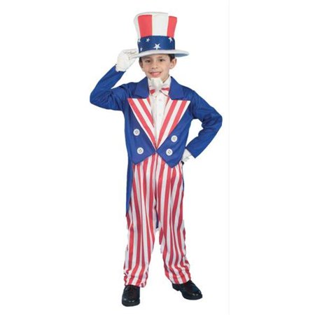 Costumes for all Occasions FM56684MD Uncle Sam Child Md (Children's Uncle Si Costume)