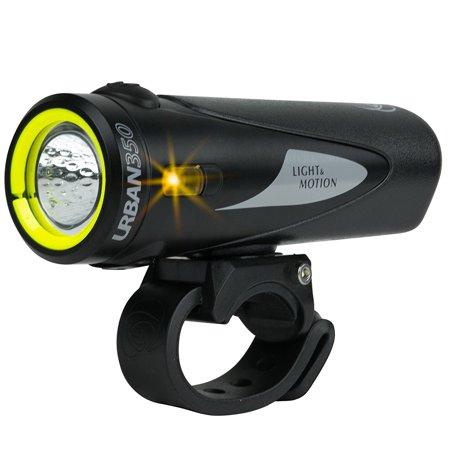 Light Motion Urban 350 Bike Headlights Obsidian Stout