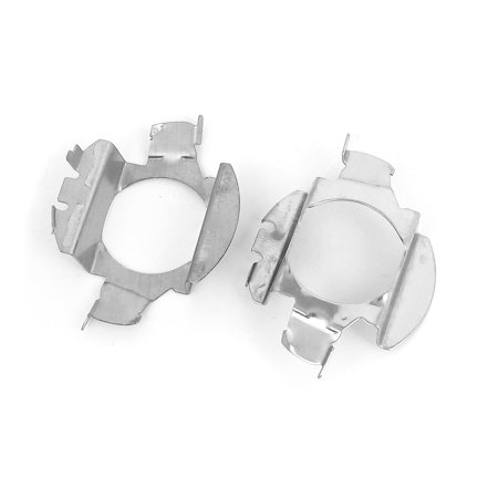 Auto HID Xenon Head Lamp Bulbs Base Holder Adapter Retainers 2 Pcs for Bora ()