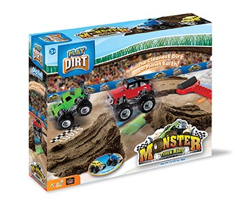 Play Dirt Monster Truck Rally Unique Play Dirt For Burying and Digging Fun Includes Dirt,... by PlayVisions