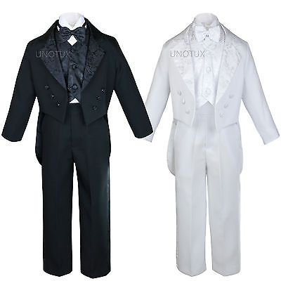Baby Toddler Boys Teen Baptism Communion Wedding Formal Tuxedo Suits  S-20 New