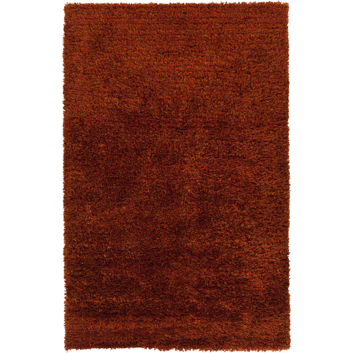 3.25' x 5.25' Modern Tapestry Solid Caramel Brown Hand Woven Decorative Area Throw Rug