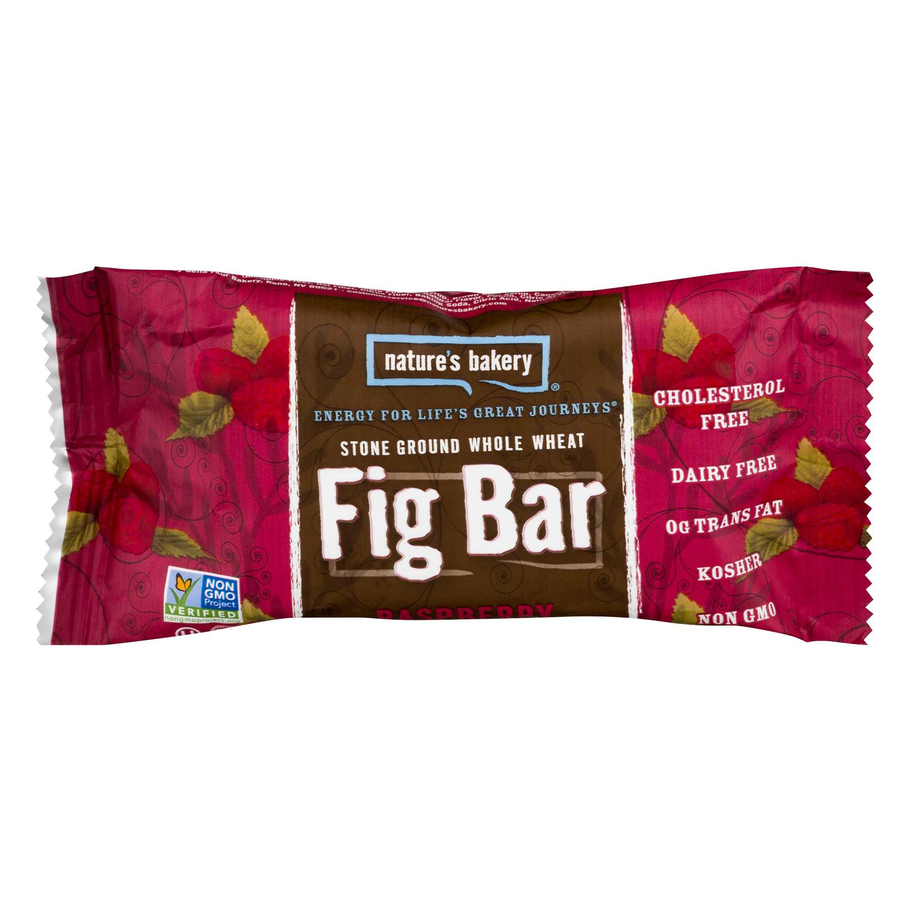 Natures Bakery Fig Bar, Raspberry, Twin Pack
