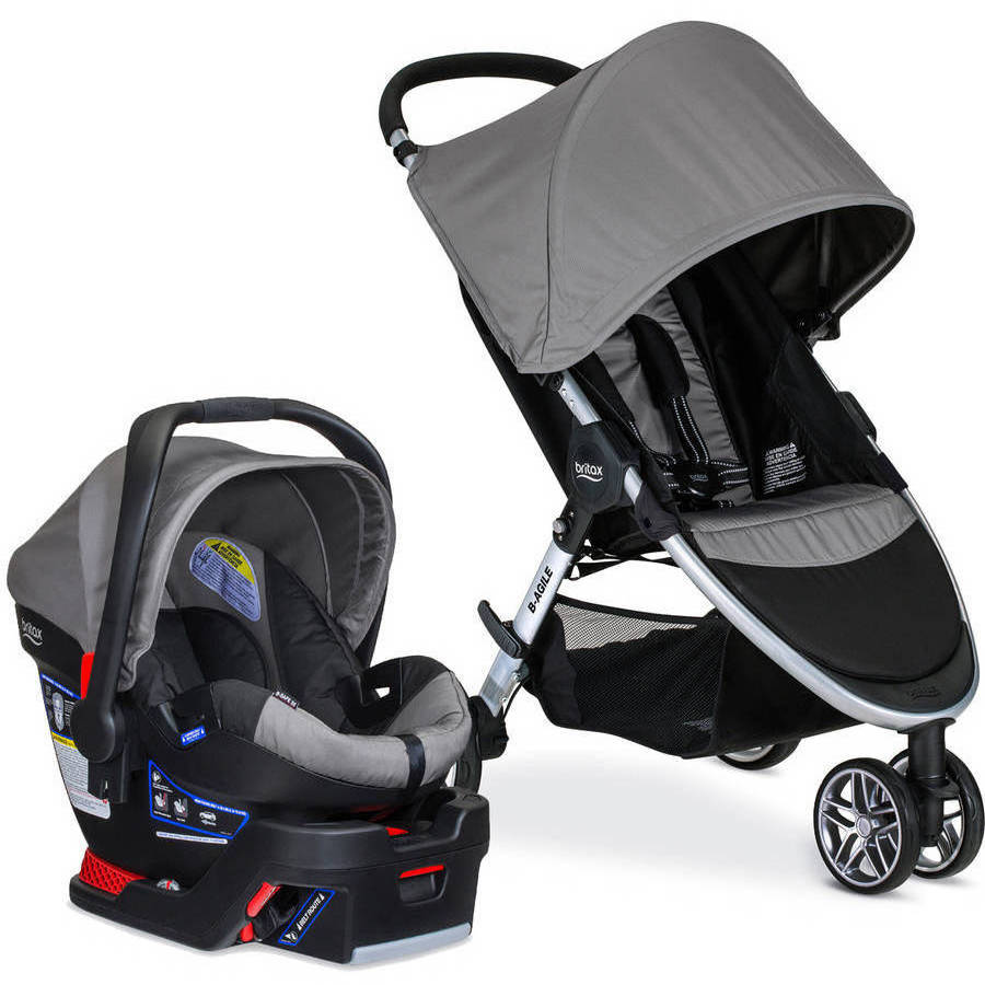 Britax B-Agile B-Safe 35 Travel System, Choose Your Color by Britax