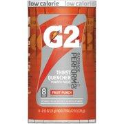 Gatorade, QKR13168, Quaker Foods G2 Single Serve Powder, 8 / Pack