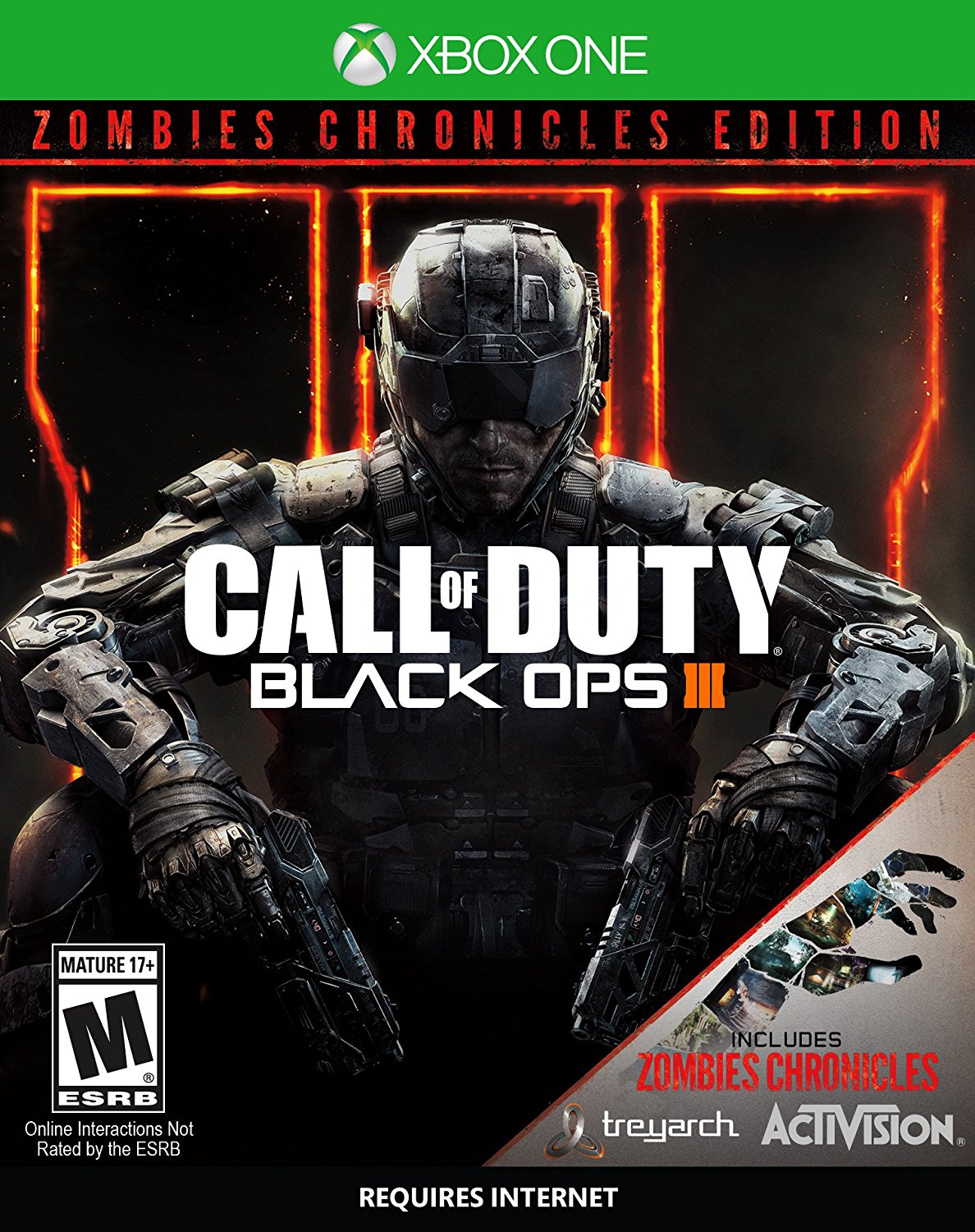 Call of Duty: Black Ops 3 Zombie Chronicles Edition, Activision, Xbox One, 047875881228
