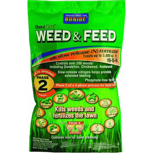 Bonide Dura Turf Lawn Fertilizer With Weed Killer