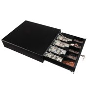 Zimtown Cash Register Drawer 4 Bill 5 Coin, Money Storage Box Tray