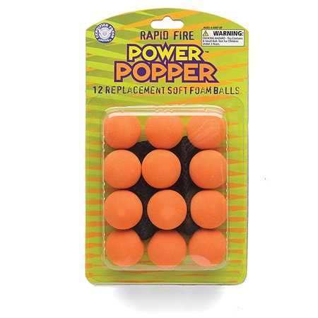 Power Popper Ball Refills, Orange