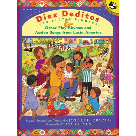 Diez Deditos and Other Play Rhymes and Action Songs from Latin America - Halloween Actions Songs