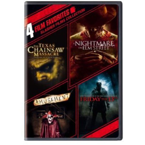 Warner Home Video 4 Film Favorites-slasher Films Collection [dvd/2 Disc]