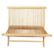 Seven Seas Teak Las Palmas Double Teak Wood Folding Bench