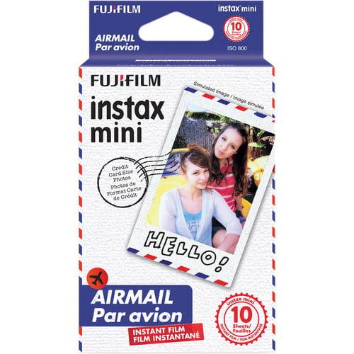 Fujifilm 10 Exposures Instax Mini Airmail Instant Film