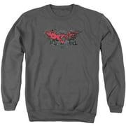 Dark Knight Rises Fear Logo Mens Crewneck Sweatshirt