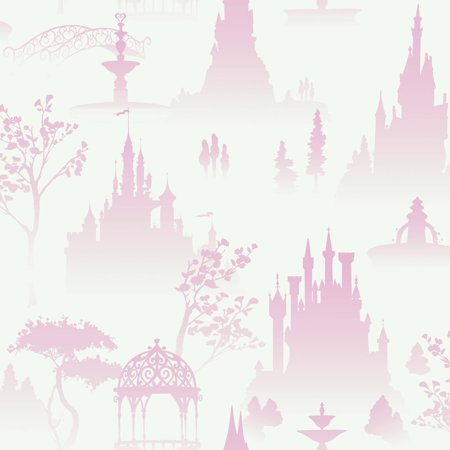 Walt Disney Kids II Tonal Scenic Toile Wallpaper