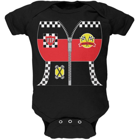 Halloween Hot Rod Costume Racing Soft Baby One Piece