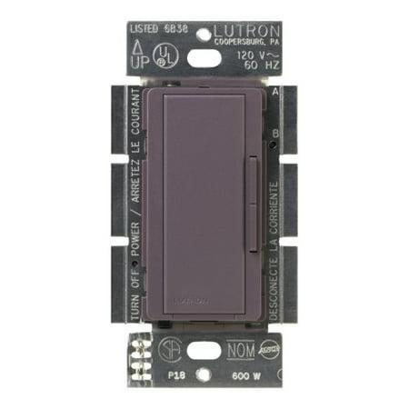 Lutron Maestro Companion Dimmer, Multi-location, MSC-AD-PL, Plum