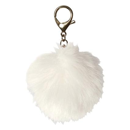 Fur Pom Pom - Off White - Walmart.com 664e4772b