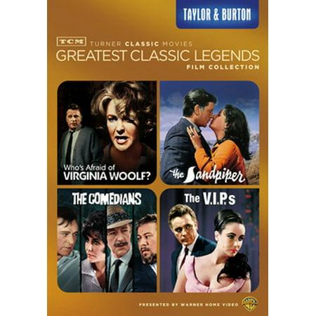 TCM Greatest Classic Films Legends: Taylor & Burton - Tim Burton Halloween Film