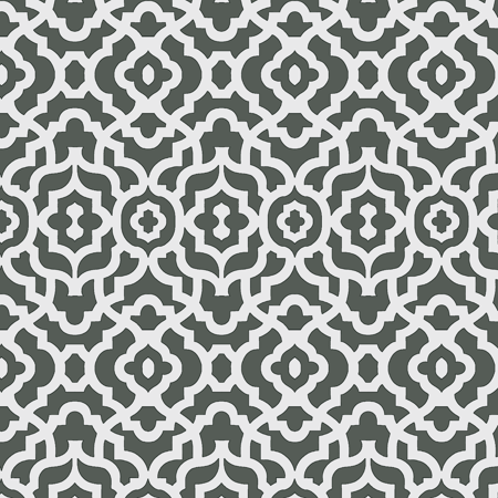 "Waverly Inspirations Cotton Duck 45"" Lattice Charcoal Grey Fabric, per Yard"