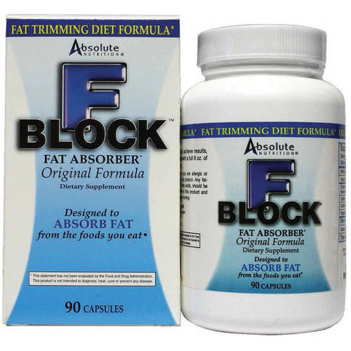 Image of Absolute Nutrition Fat Blocker, Fat Absorber, 90 CT