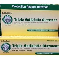 4 Triple Antibiotic Ointment Cream Dr Sheffields First Aid Infection Cuts Burns, 36g Please read the details before purchase. There is no doubt the 24-hour contacts., By Home World Shop