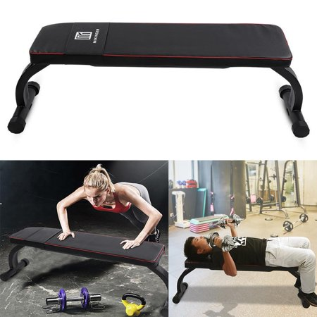 Zerone Weight Lifting Bench,Foldable Fitness Bench,Home Gym Fitness Flat Bench Foldable Legs for Dumbbell Weight Lifting
