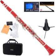 Best Clarinets - Mendini by Cecilio MCT-R Red ABS Bb Clarinet Review