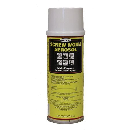 Durvet Fly D-Screw Worm Aerosol Insecticide Spray 12