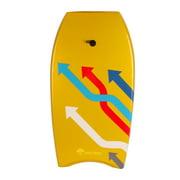 BIGTREETECH Body board Kickboard Surfing Skim board Wake Boogie Board Pool Toy Custom 1 Arrow 37 In.