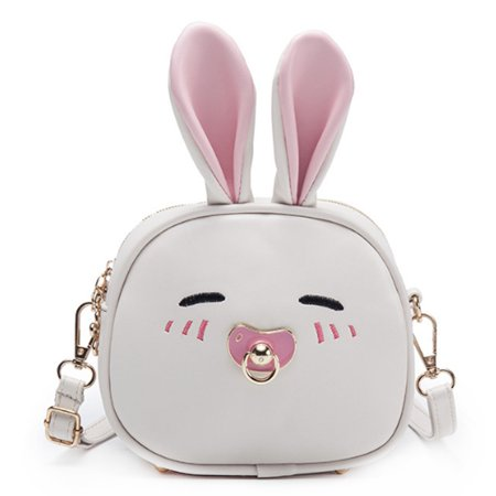 05ff38b342 Cute Children Crossbody Bag Cartoon Rabbit Backpack for Kids Girls - Beige  - Walmart.com