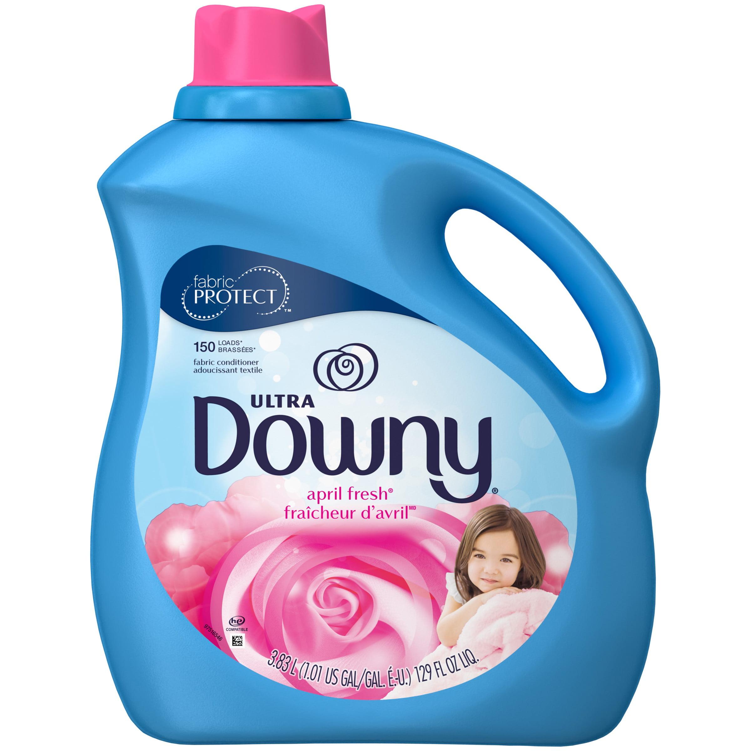 Downy Ultra Liquid Fabric Softener, April Fresh, 129 Oz