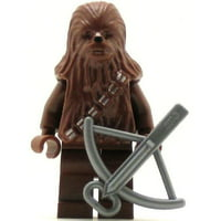 LEGO Minifigure - Star Wars - CHEWBACCA with Bowcaster (Brown)