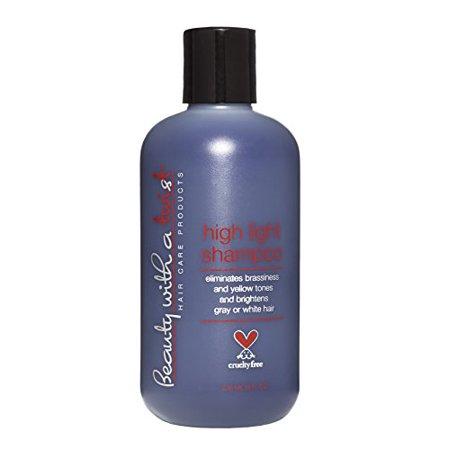 Salon Quality Hair Care Purple Shampoo for Blonde or Highlighted Hair - 8