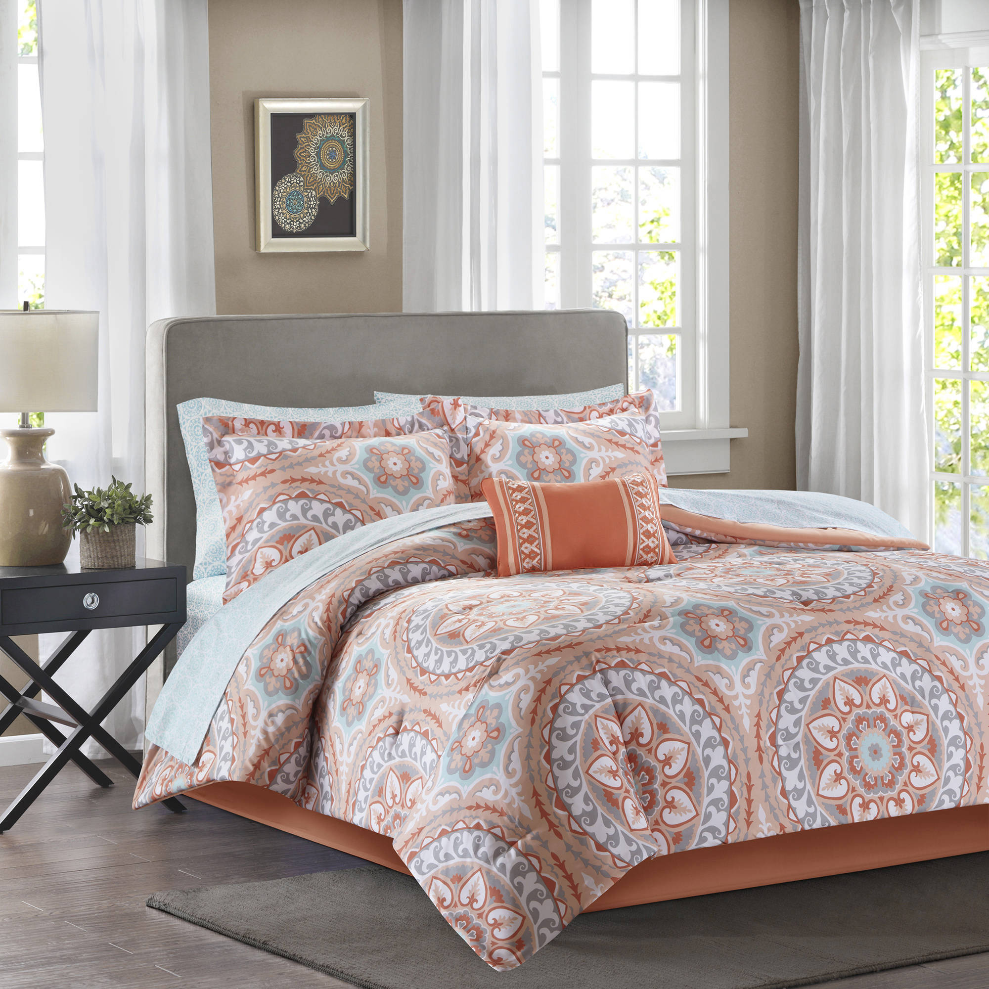 set bedding bed butterflies paris pin comforter twin pc in