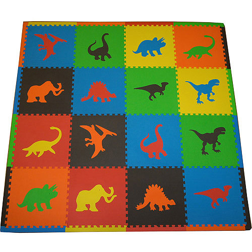 Seed Sprout Dinosaur 16pc Playmat Set