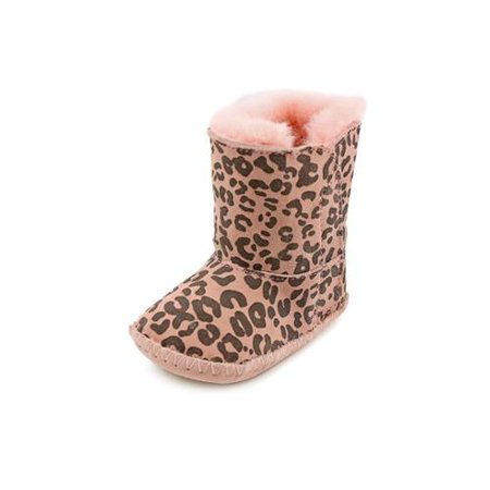 Ugg Cassie Leopard Infant Baby Pink Leopard 1001781 INF BPLD - Pink Metallic Uggs