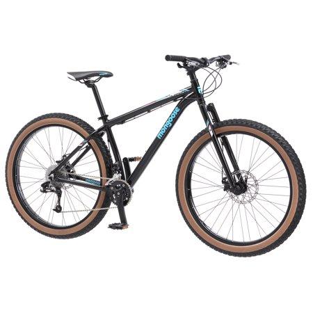 Mongoose Ripsaw Mens Mountain Bike, 27.5-inch wheels, 20 speeds, black