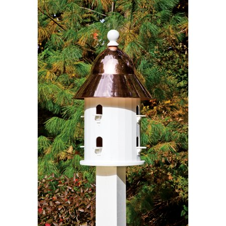 Lazy Hill Farm Designs Bell Bird House, Pure Copper and Vinyl ()