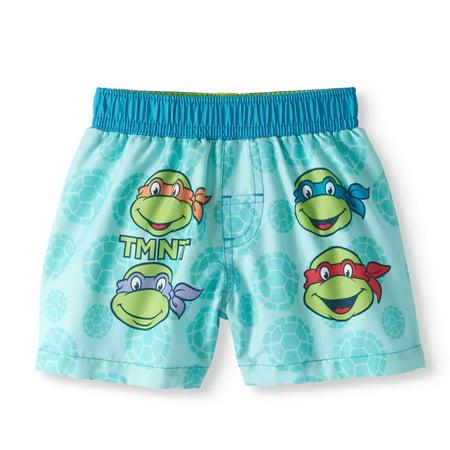 Teenage Muntant Ninja Turtles Baby Boys' Swim Trunks - Baby Ninja