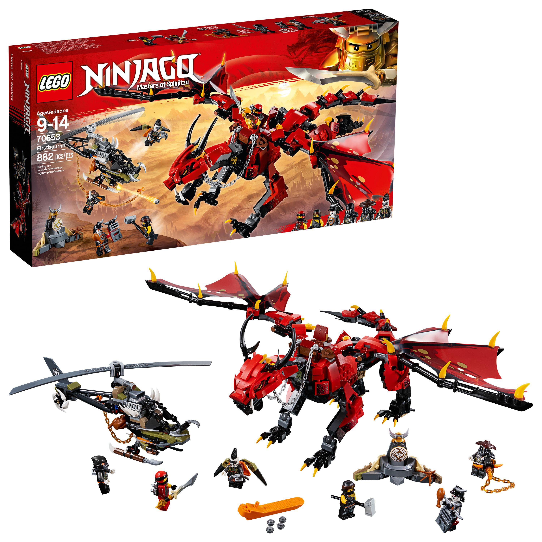 LEGO Ninjago Masters of Spinjitzu: Firstbourne70653(882 Pieces)