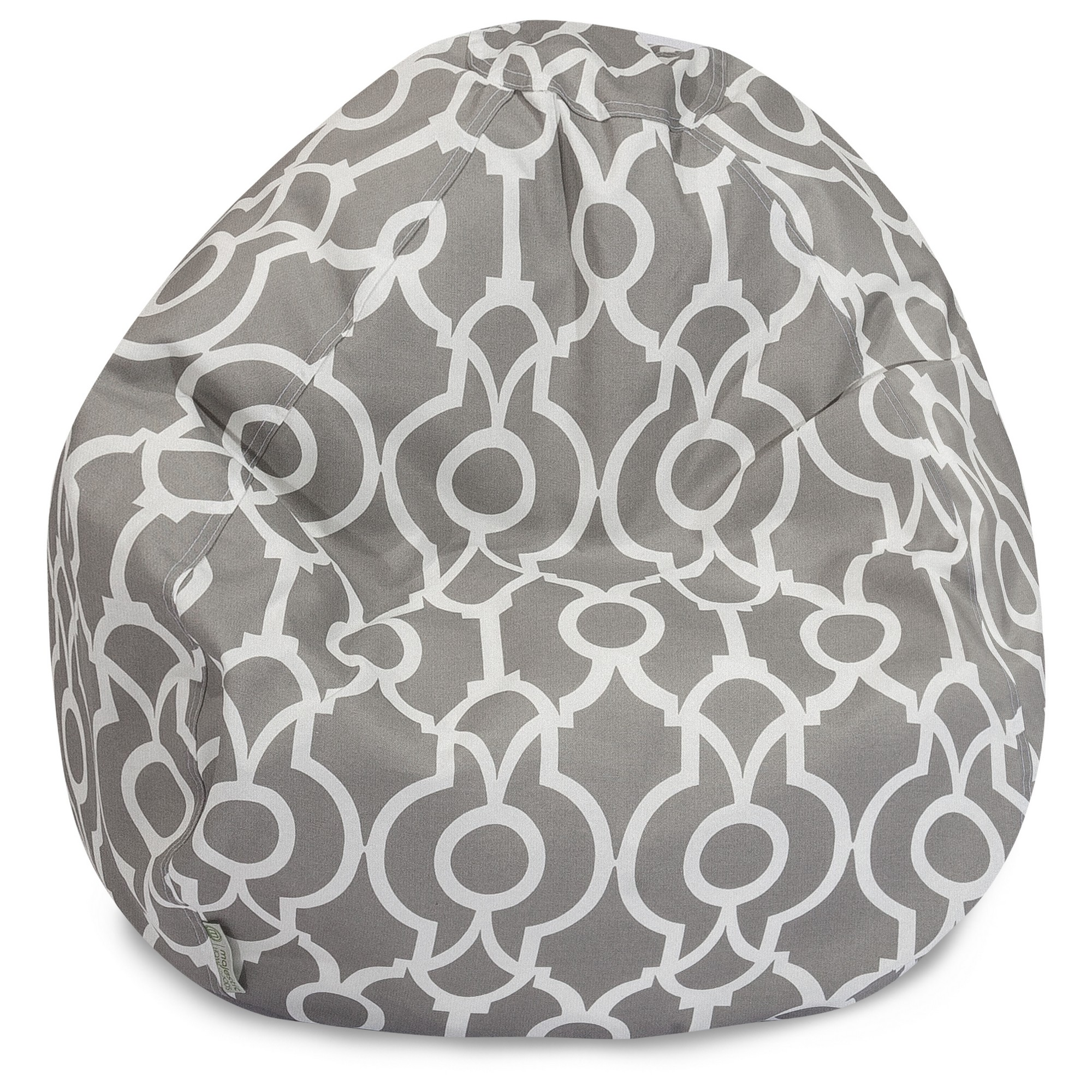 Majestic Home Goods Athens Large Classic Bean Bag Chair, Multiple Colors