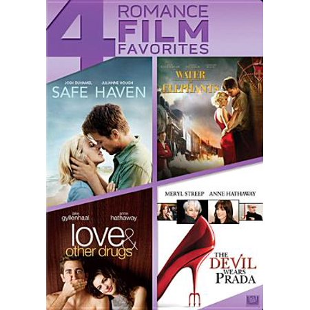 Safe Haven / Water for Elephants / Love & Other Drugs / The Devil Wears Prada