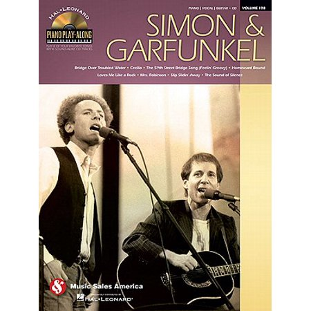 Hal Leonard Piano Play-Along Volume 108 - Simon & Garfunkel (Book/CD Set) for Piano / Vocal / Guitar ()