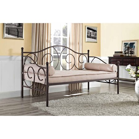 DHP Victoria Metal Frame Daybed, Twin Size, Multiple (Augusta Daybed)