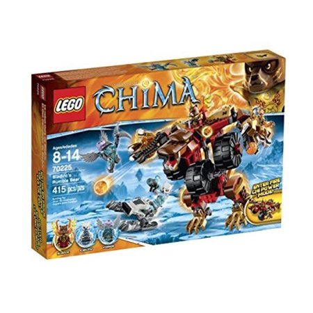 Lego Legends Of Chima 70225 Bladvics Rumble Bear Building Kit Multi Colored