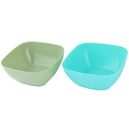 (Buy One Get One Free)Home Plastic Food Salad Snack Candy Holder Bowl Fruit Basket