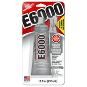 Eclectic E6000 Industrial Adhesive with Precision Tip, Clear 1 oz.