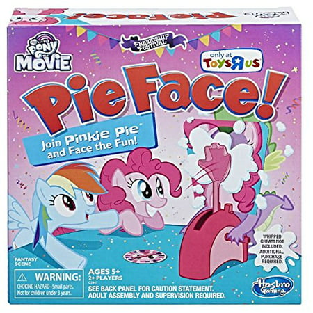 My Little Pony The Movie Pinkie Pie Edition Pie Face! - Pue Face